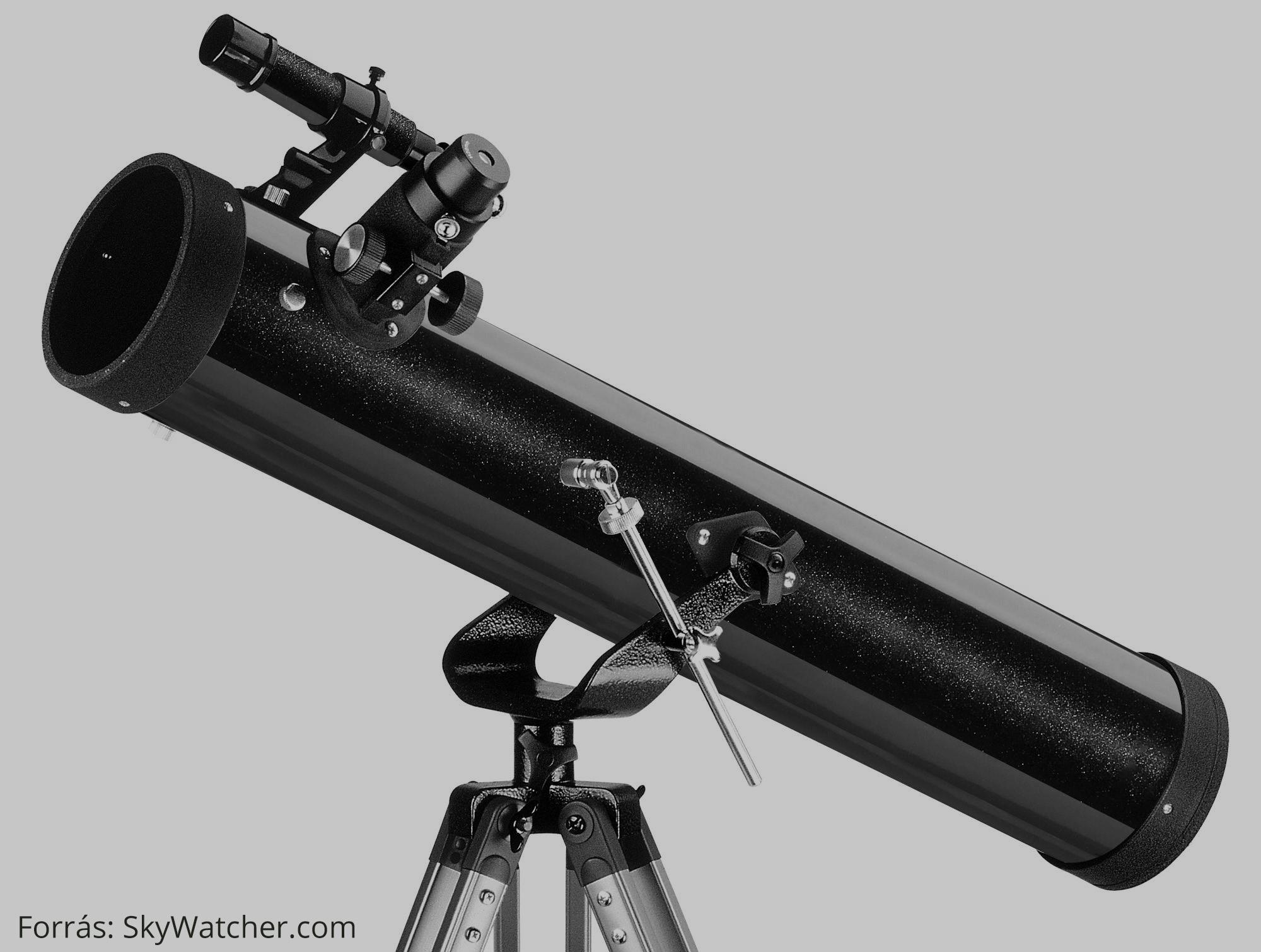 Az első csillagászati távcsövem