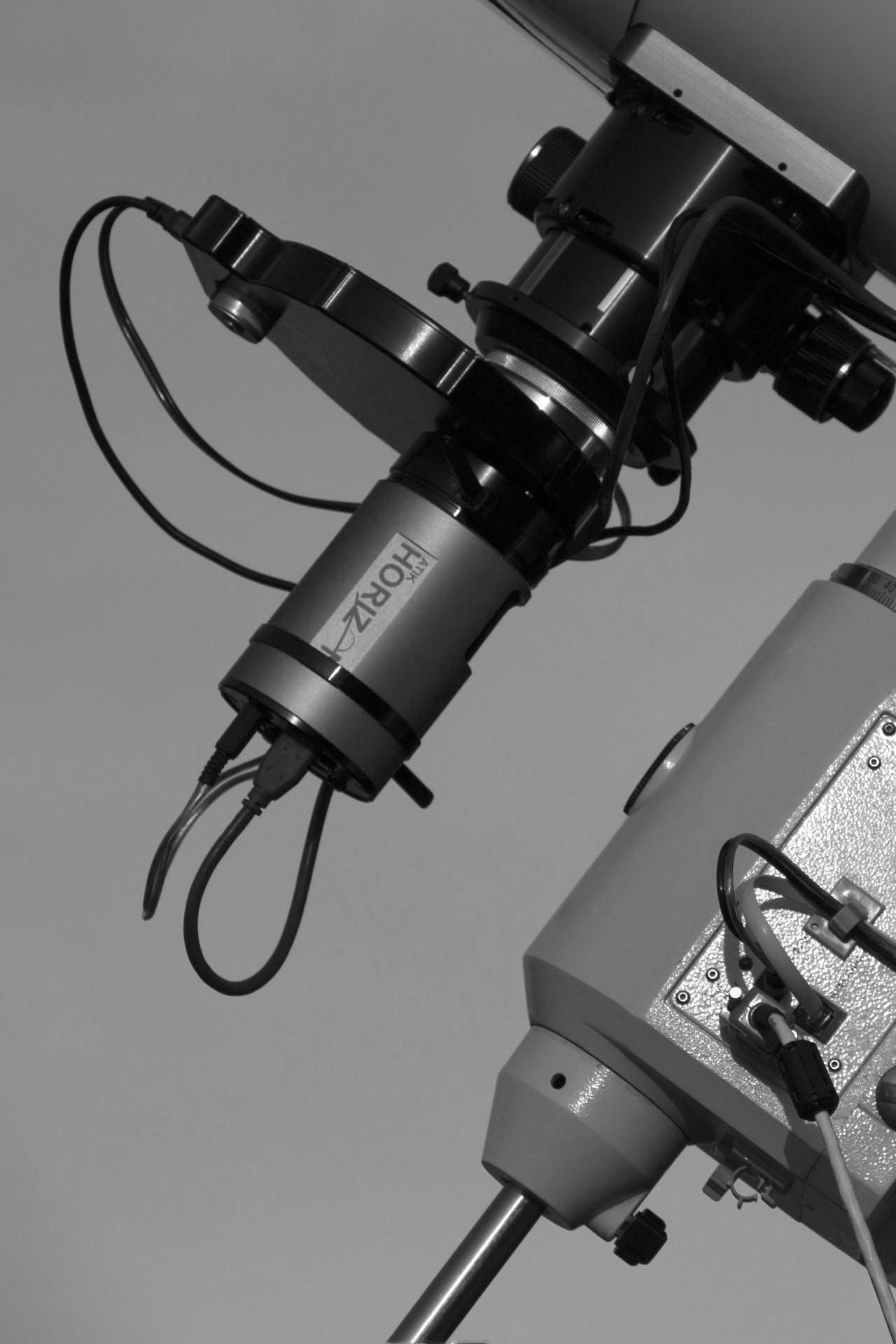 ATIK Horizon hűtött CMOS kamera - ATIK EFW2 motoros szűrőváltó - Astronomik szűrősor