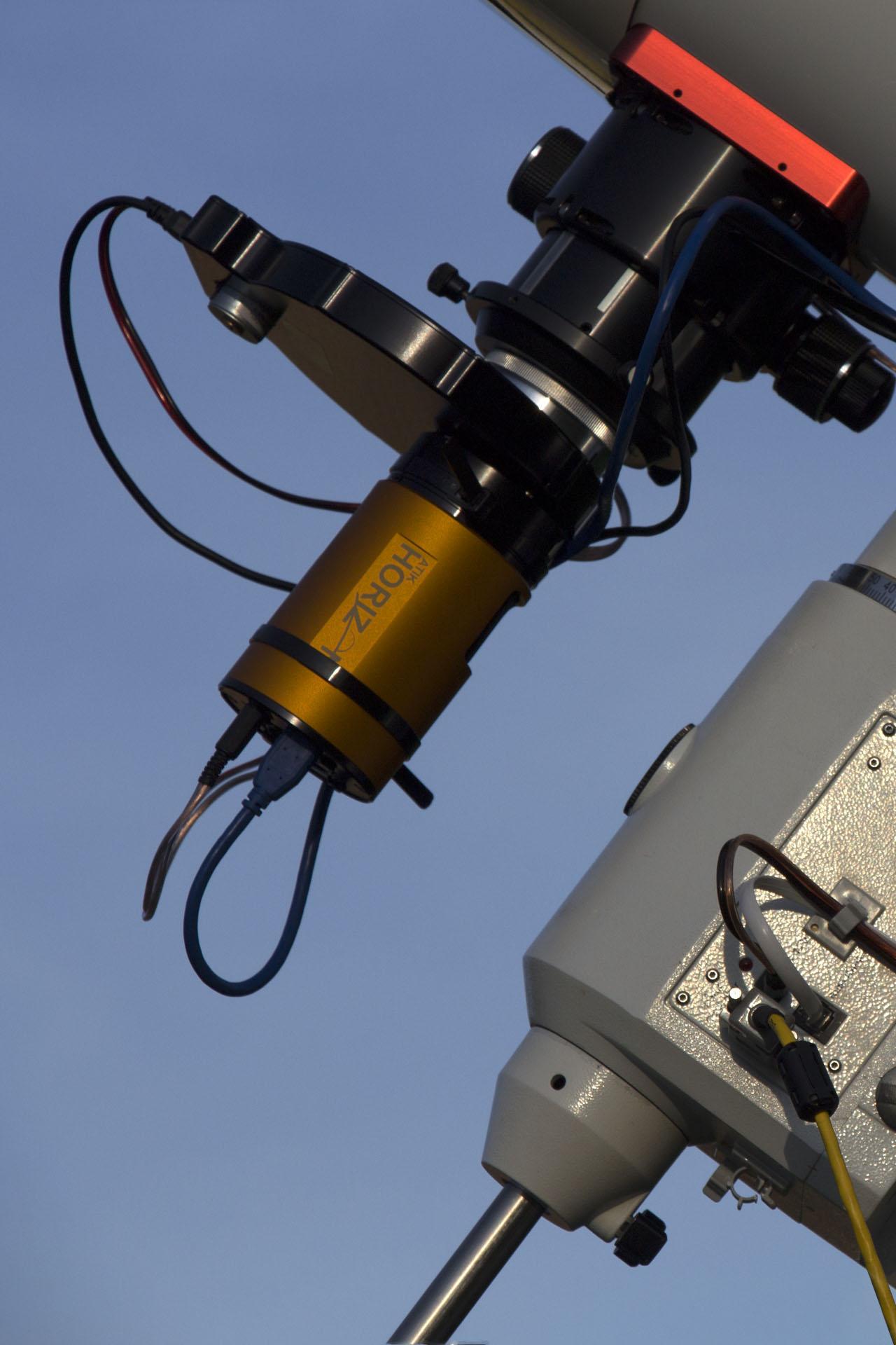 ATIK Horizon cooled CMOS camera - ATIK EFW2 automated filter wheel - Astronomik filters