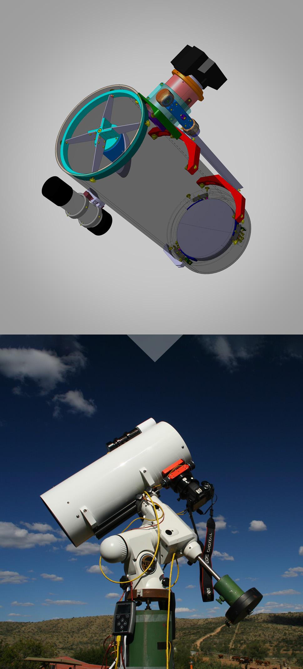 200/750 Newton astrograph - EQ6 Pro GOTO mount