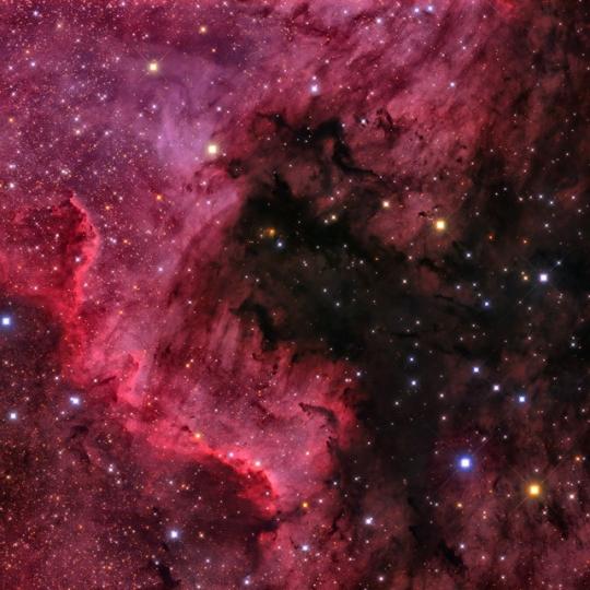 NGC7000 - Észak-Amerika köd