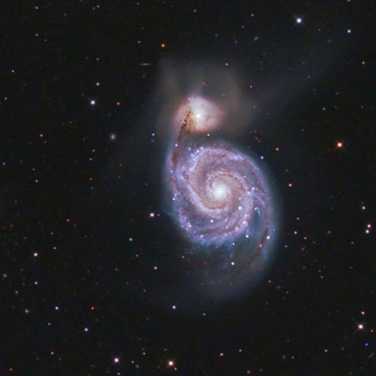M51 - Örvény-galaxis