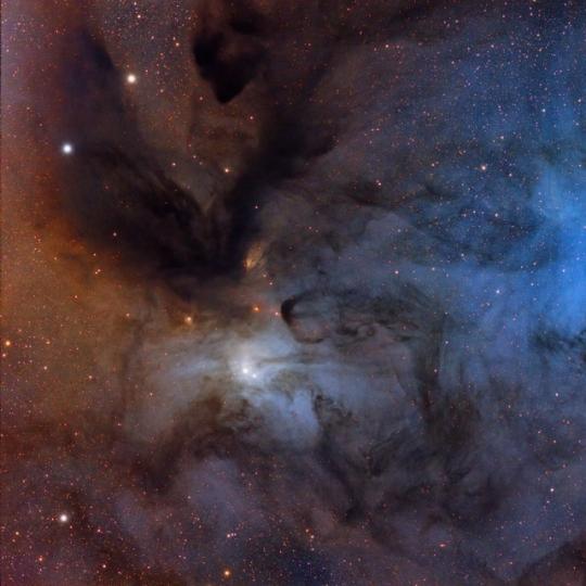 IC4604 - Rho Ophiuchi ködössége