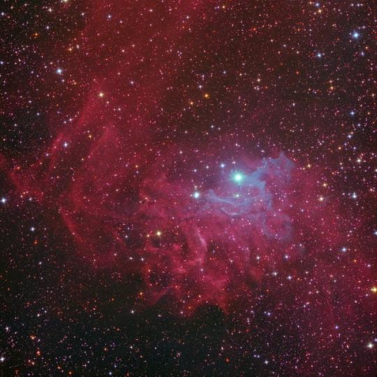 IC410 - A lángoló csillag
