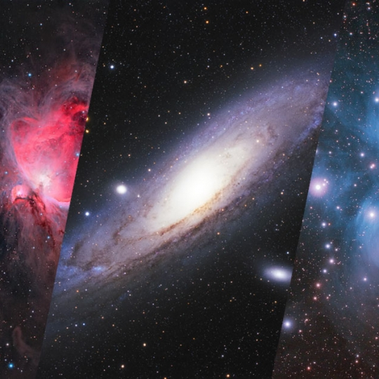 I have uploaded a couple of images to the deep-sky gallery they were taken with the Canon 350D camera in very early phase of my astrophotography.