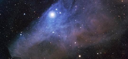 IC4592 - The blue horsehead nebula