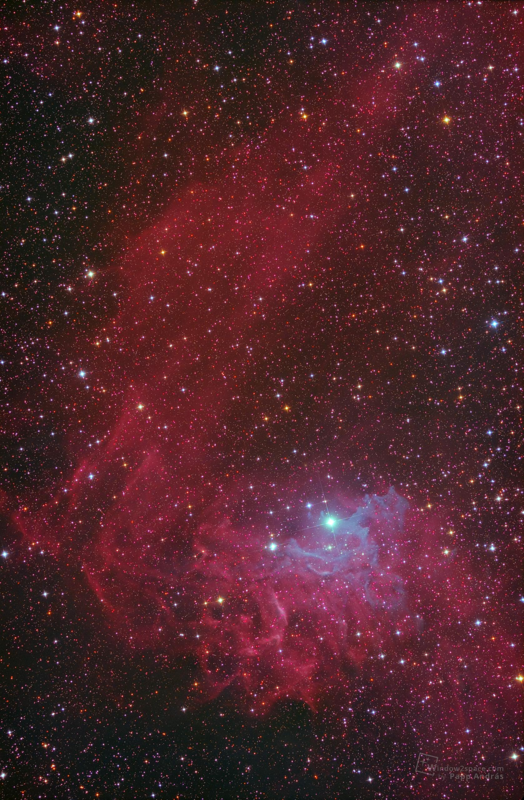 IC405 - A lángoló csillag